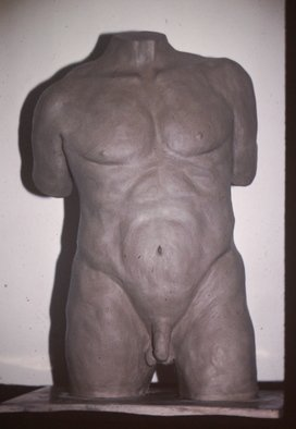 David Rocky Aguirre; Male Missing, 1997, Original Sculpture Ceramic, 7 x 11 inches. Artwork description: 241  Missing from fullerton calif. area 97. ...