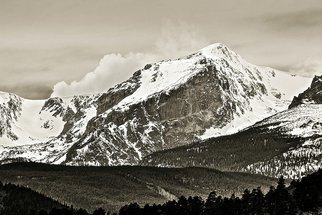 Dennis Gorzelsky; Immovable, 2015, Original Photography Digital, 30 x 20 inches. Artwork description: 241 On a visit to the Rockies in Colorado, I stood in awe of this magnificent mountain. ...