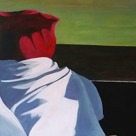Denise Dalzell, , , Original Painting Acrylic, size_width{abuelita-1521575706.jpg} X 24 inches