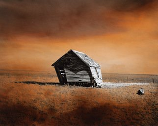 Denny Moers; Prairie Dwelling VIII, 1996, Original Photography Other, 16 x 17 inches. Artwork description: 241 This is a archival pigment print from an original silver chloride darkroom based photographic monoprint. See my website for moreinfo....