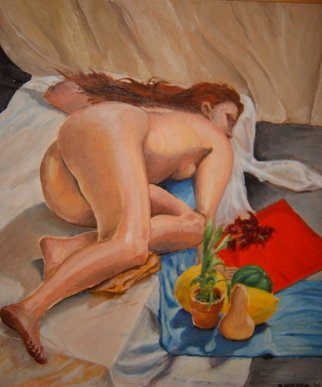 Dung Nguyen; Still Life For Ashcroft, 2002, Original Painting Oil, 22 x 24 inches.