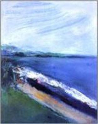 Domingo Garcia; Playa Las Picuas, 1993, Original Painting Oil, 40 x 50 feet. Artwork description: 241  Private collection ...