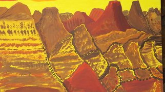 Donald Koester, CANYONLANDS, 2016, Original Painting Acrylic, size_width{CANYONLANDS-1489265703.jpg} X 36 x  inches