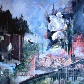 Donna Gallant, , , Original Mixed Media, size_width{Recapturing_Innocence-1118762600.jpg} X 30 inches