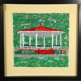 Jerry Reynolds, , , Original Mosaic, size_width{Band_Shell_Mosaic-1428958996.jpg} X 12 inches