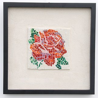 Jerry Reynolds, Lucies Rose, 2011, Original Mosaic,    inches