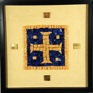 Jerry Reynolds, Templar Cross Mosaic, 2015, Original Mosaic,    inches