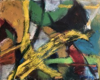 Bob Dornberg; Flight, 2020, Original Painting Oil, 20 x 16 inches. Artwork description: 241 COLOR SHAPES IN MOVEMENT...