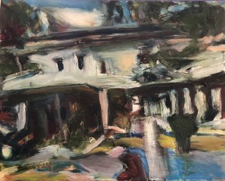 Bob Dornberg; Old House, 2020, Original Painting Oil, 20 x 16 inches. Artwork description: 241 OLD HOUSE BY SEA...