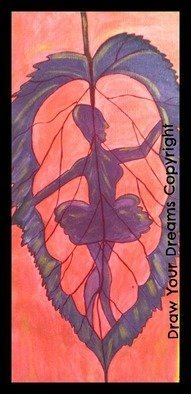 Sneha Joshi; Ballet In Leaf, 2014, Original Painting Acrylic, 11 x 24 inches. Artwork description: 241  Acrylic Painting on rolled Canvas easy and trouble free transport. Size 11in  24in Its an abstract painting showing a lady dancing Ballet within a leaf. This uses a combination of non traditional colours. Ideal for white or dull coloured walls. Its made on rolled canvas, not framed ...