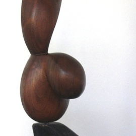Daniel Lombardo, , , Original Sculpture Wood, size_width{Message_of_Love-1430748811.jpg} X 12 inches