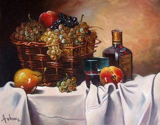 Dusan Vukovic; Fruitful Autumn, 2012, Original Painting Oil, 40 x 50 cm.