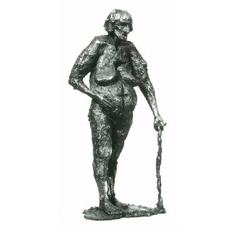 Zlatan Stoilov; Parting, 1980, Original Sculpture Bronze,   cm. Artwork description: 241  Parting                       ...