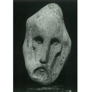 Zlatan Stoilov; Phantasm, 1979, Original Sculpture Stone, 55 x 35 cm. Artwork description: 241  Phantasm            ...