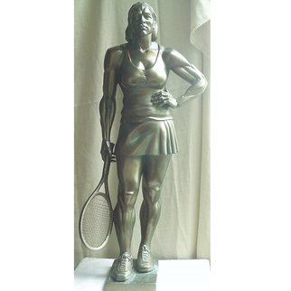 Zlatan Stoilov; Player, 2009, Original Sculpture Bronze,   cm. Artwork description: 241  Player                        ...