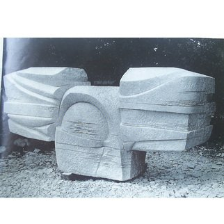 Zlatan Stoilov; Sun, 1979, Original Sculpture Stone,   cm. Artwork description: 241  sun                       ...