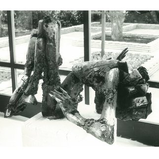 Zlatan Stoilov; Stress, 1982, Original Sculpture Bronze,   cm. Artwork description: 241  stress                  ...