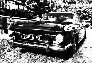 Paul Edwards; Karmann Exposed, 2017, Original Photography Black and White, 8 x 10 inches.