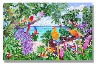 Eileen Seitz; Summers Song, 2004, Original Painting Oil, 48 x 30 inches. Artwork description: 241  Inspired from the zest of energy and beauty found in the tropicswww. eileenseitz. com ...