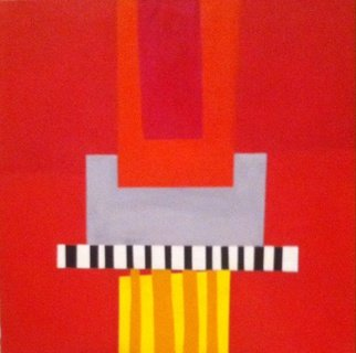 Elizabeth Bogard, Red 3, 2015, Original Painting Acrylic,    inches