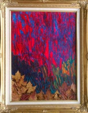 Emen Levy, Leaves 2, 2010, Original Painting Oil, size_width{Leaves_2-1294866981.jpg} X 22 x  inches