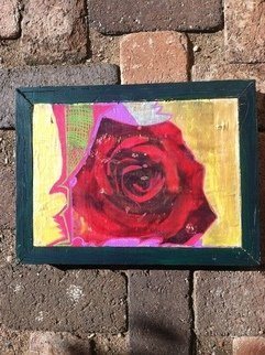 Elizabeth Griffith; Rose, 2013, Original Mixed Media,   inches.