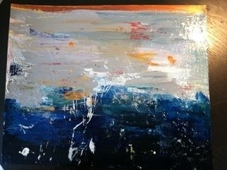Elizabeth Griffith; Underneath , 2013, Original Painting Acrylic, 36 x 24 inches. Artwork description: 241  Pallet Knife ...