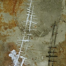 Emilio Merlina, , , Original Mixed Media, size_width{between_reality_and_fantasy_012-1330344247.jpg} X 50 cm