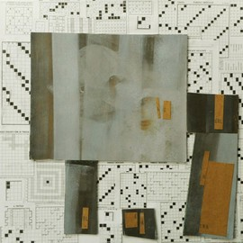 Emilio Merlina, , , Original Mixed Media, size_width{crossword-1471029596.jpg} X 50 cm