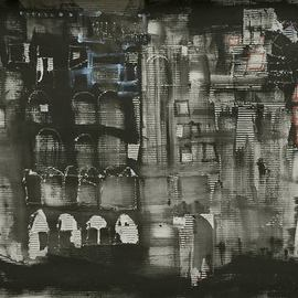 Emilio Merlina, , , Original Mixed Media, size_width{hotel_california-1514809306.jpg} X 70 cm