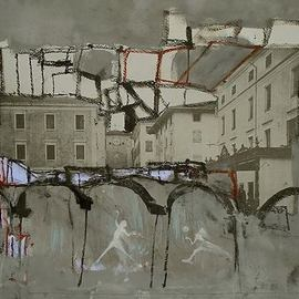 Emilio Merlina, , , Original Mixed Media, size_width{quarter_to_five-1506536172.jpg} X 35 cm