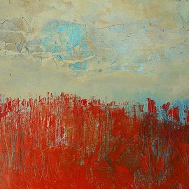 Emilio Merlina, The field, 2016, Original Painting Oil, size_width{the_field-1454758765.jpg} X 36 cm