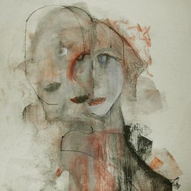 Emilio Merlina, , , Original Mixed Media, size_width{the_pusher-1420582283.jpg} X 57 cm