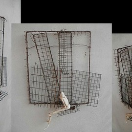 Emilio Merlina, , , Original Sculpture Mixed, size_width{the_recycler-1329944346.jpg} X 37 cm
