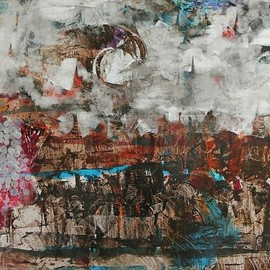 Emilio Merlina, , , Original Mixed Media, size_width{without_flag-1506436357.jpg} X 97 cm