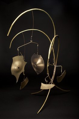 Eric Jacobson, Brass Mobile V, 2011, Original Sculpture Other, size_width{Brass_Mobile_V-1317073738.jpg} X 35 x  inches