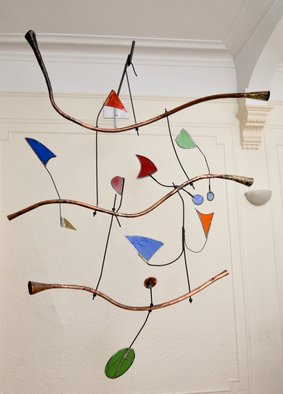 Eric Jacobson, Horns and Flags, 2016, Original Sculpture Other, size_width{Horns_and_Flags-1491004955.jpg} X 72 x  inches