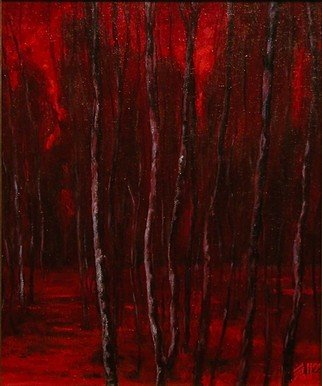 Eric Soll, Deep Red 3, 2005, Original Painting Oil,    inches
