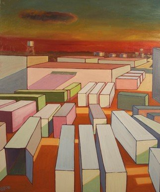 Eric Soll, Industrial Flow, 2006, Original Painting Oil,    inches