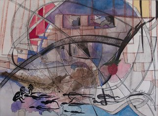 Erika G. Johannsson; Recruit, 2011, Original Mixed Media, 59 x 44 cm. Artwork description: 241   Mixed technique on Paper       ...