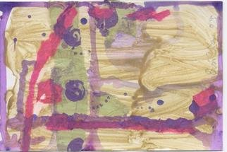 Ersilia Crawford; Collage 2, 2004, Original Collage, 6 x 4 inches.