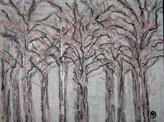 Evie Tirado; Wintercolors, 2009, Original Painting Acrylic, 30 x 36 inches.