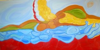 Ethel Bustamante; Ode To Colombia, 2006, Original Painting Acrylic, 48 x 24 inches.