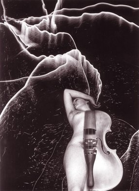 Itzhak Ben Arieh; MUSIC, 2003, Original Digital Art, 21 x 30 cm. Artwork description: 241  PHOTOMONTAGEFANTASTIC PHOTOGRAPHY ...