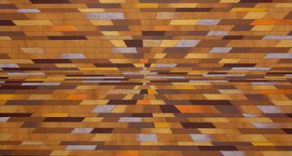 Luiz Carlos Ferracioli; Dimension 3, 2016, Original Painting Acrylic, 150 x 80 cm. Artwork description: 241        geometric, paint       ...