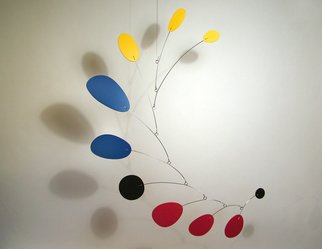 Julie Frith; Multius Mobile, 2010, Original Kinetic, 42 x 54 inches. Artwork description: 241   Mobile by Julie Frith