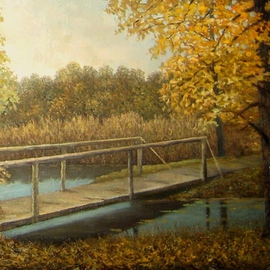 Tatiana Fruleva, , , Original Painting Oil, size_width{Beginning_of_autumn-1437516798.jpg} X 7.8 inches
