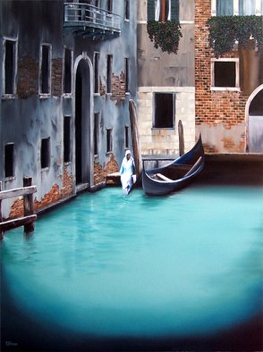 Dj Fedeli; Fishermans Wife, 2009, Original Painting Oil, 30 x 40 inches. Artwork description: 241    David Fedeli, DJ Fedeli, Fine Art, Landscapes, Surrealism, Neo- Romanticism, Fisherman's Wife, Robert Watson, Oil Painting   ...