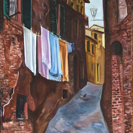 Glenda Santiago, , , Original Painting Oil, size_width{Caravan_of_Dreams-1223050006.jpg} X 36 inches