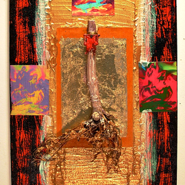 Jerry  Di Falco, , , Original Assemblage, size_width{Body_is_Taken_From_the_Cross_-1535400881.jpg} X 20 inches